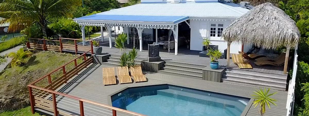 Villa Coconut au Diamant